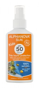 ALPHANOVA SUN BIO SPF50 KIDS SPRAY6